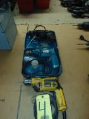 LOT OF ELECTRIC DRILLS (3), assorted