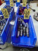 LOT OF PNEUMATIC SCREW GUNS (4) (in one box)