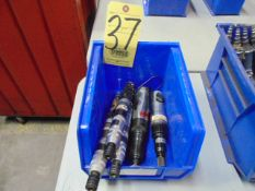 LOT OF PNEUMATIC SCREW DRIVERS (5), assorted (in one box)