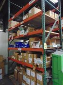 LOT CONSISTING OF: screws, nuts, springs & misc., (in three pallet racking sections)