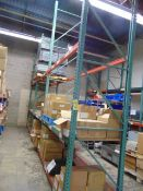 LOT CONSISTING OF: assorted springs, printer labels, key boxes, assorted steel parts, box frames,