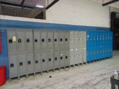 LOT OF LOCKERS, assorted