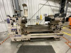 """MICROWEILY, TY-2660, 26"""" X 60"""", GAP BED, ENGINE LATHE, 15-860 RPM, SWING OVER CROSS SLIDE 18"""", SWING"""