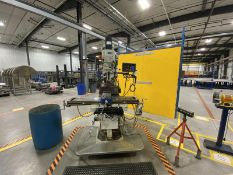 """FIRST, LC-185VS, 10"""" X 50""""TURRET MILL, POWER DRAW BAR, X-AXIS POWER FEED, 60-4500 RPM, 3 AXIS, TECH,"""