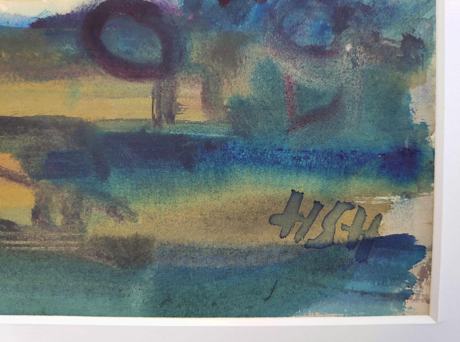 """Holtz-Sommer, Hedwig (1901 Berlin – 1970 Wustrow) """"Zwei weiße Boote"""" - Bild 3 aus 3"""