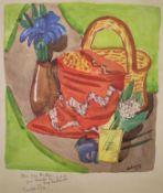 """Beckmann, Max (1884 Leipzig – 1950 New York) """"Stillleben mit Maiglöckchen"""""""