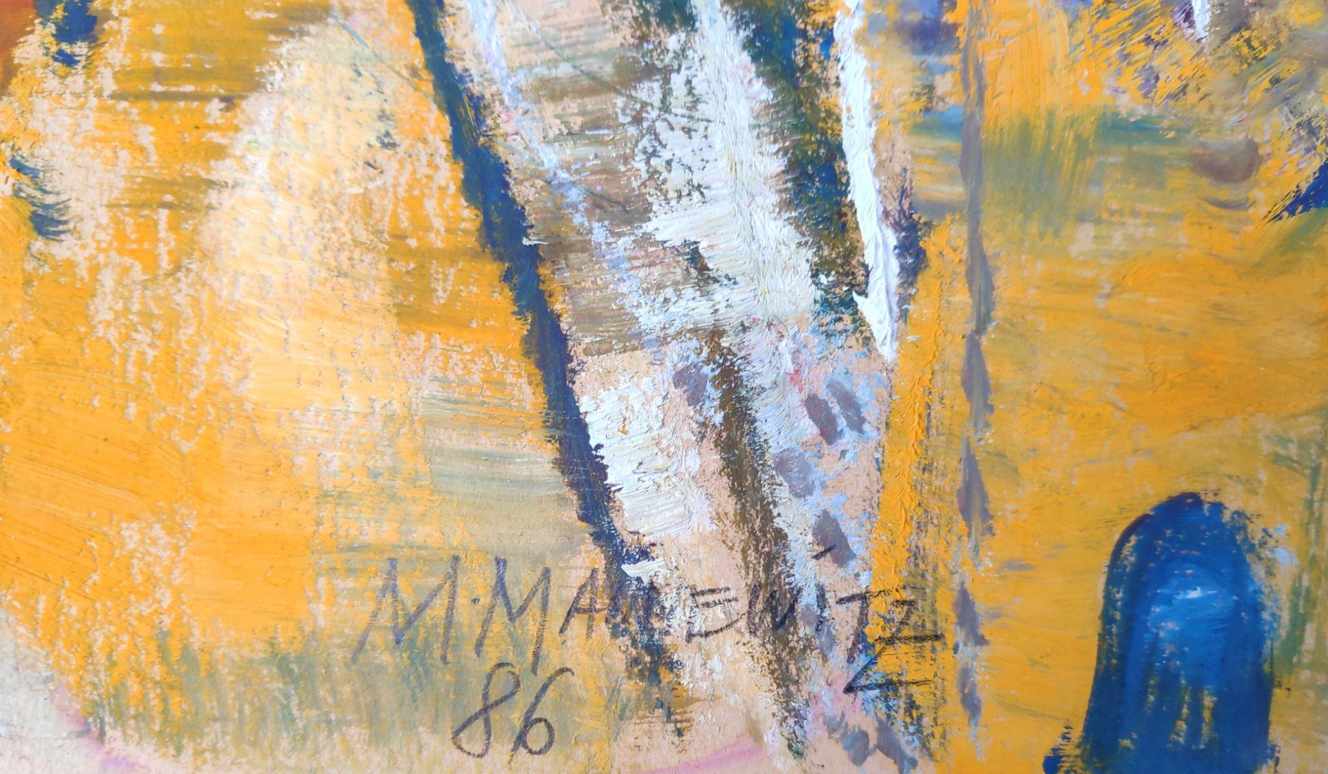 """Mannewitz, Mechthild (1926 Rostock, lebt in Rostock) """"Komposition"""" - Bild 3 aus 3"""