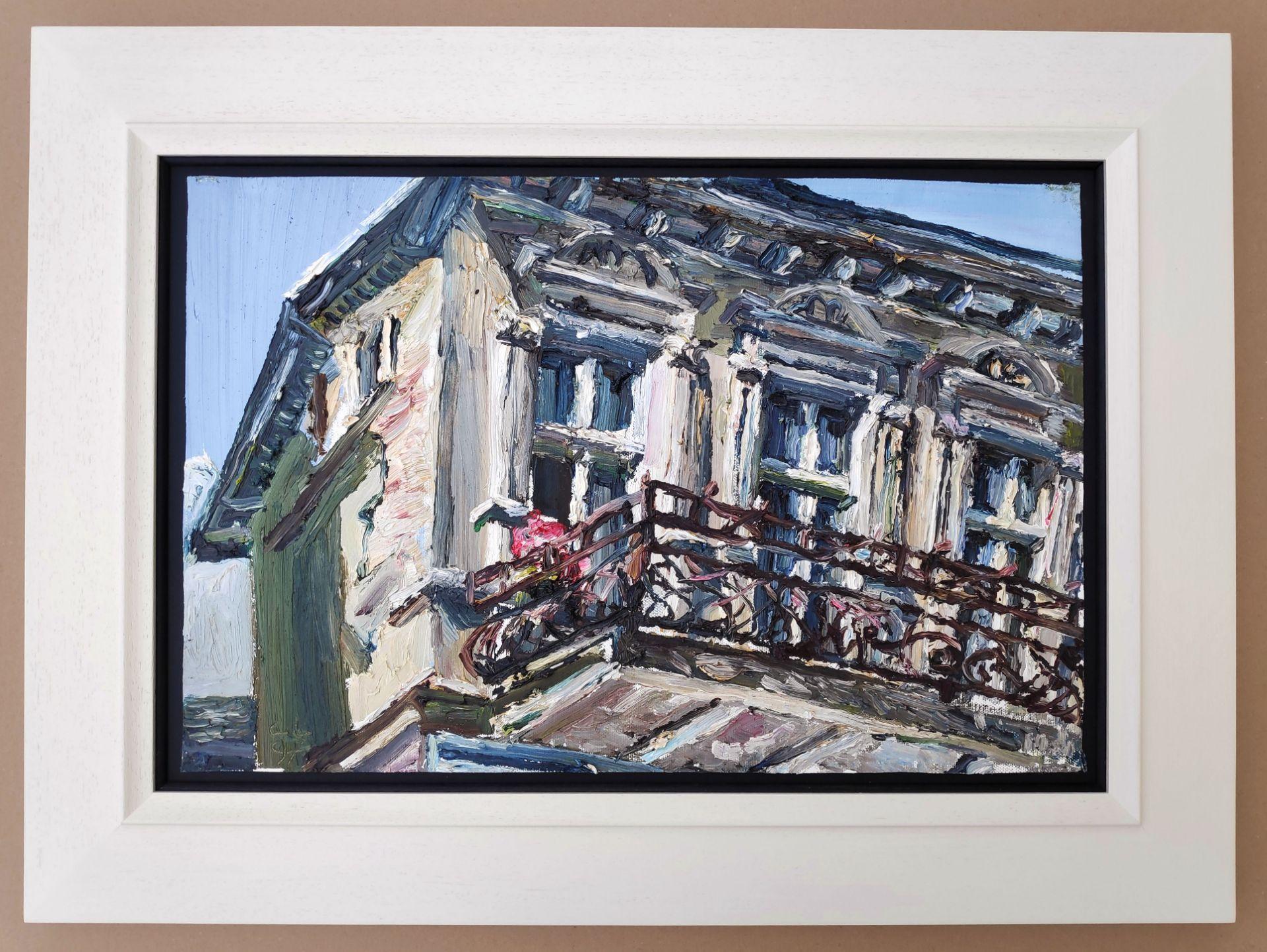 "Lehmpfuhl, Christopher (1972 Berlin, lebt in Berlin) ""Villa in Heringsdorf"" - Bild 2 aus 3"