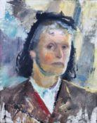 "Holtz-Sommer, Hedwig (1901 Berlin – 1970 Wustrow) ""Selbstportrait"""