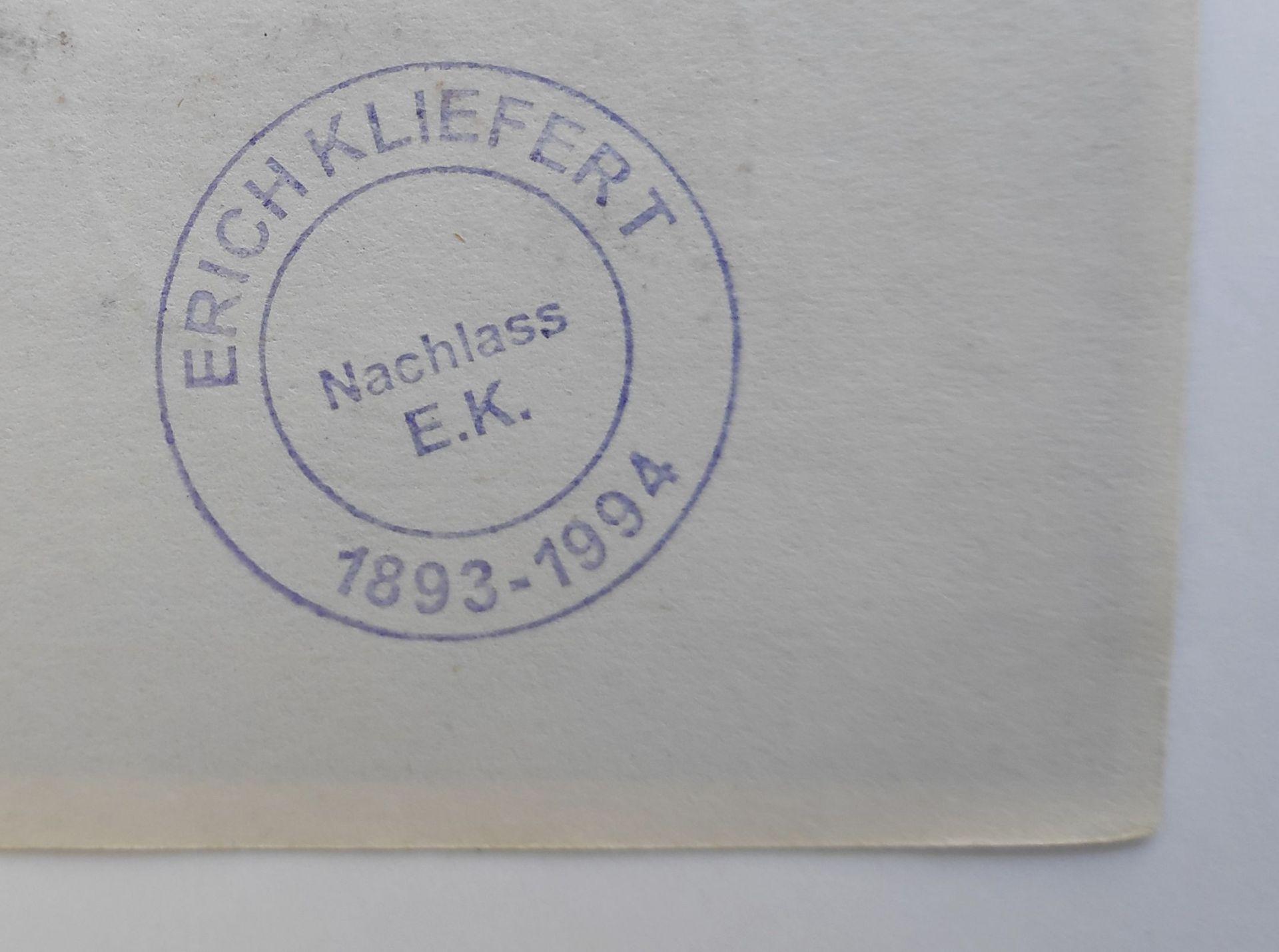 """Kliefert, Erich (1893 Berlin – 1994 Stralsund) """"Strandszene IV"""" - Bild 3 aus 3"""