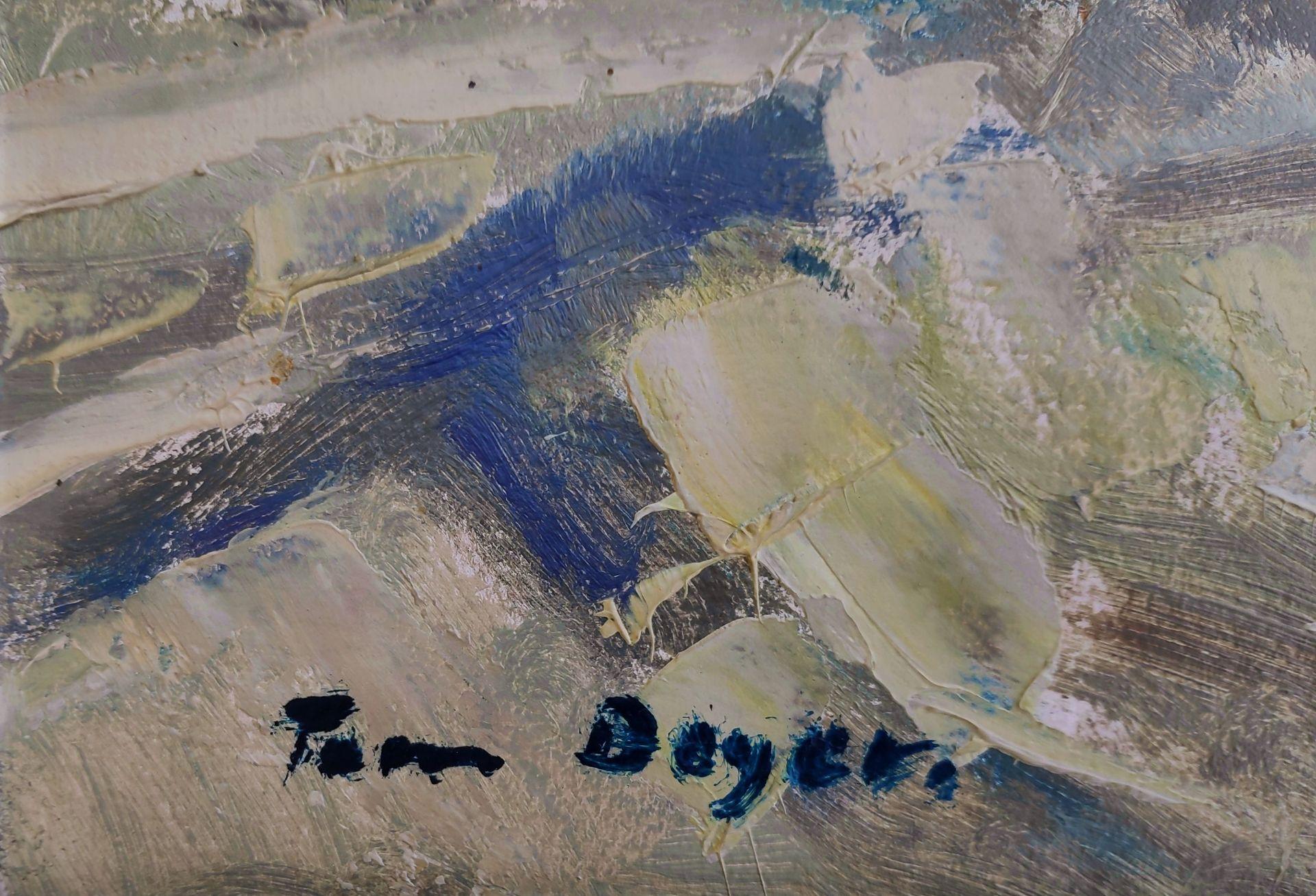 """Beyer, Tom (1907 Münster – 1981 Stralsund) """"Fischer bei der Arbeit"""" - Bild 3 aus 3"""
