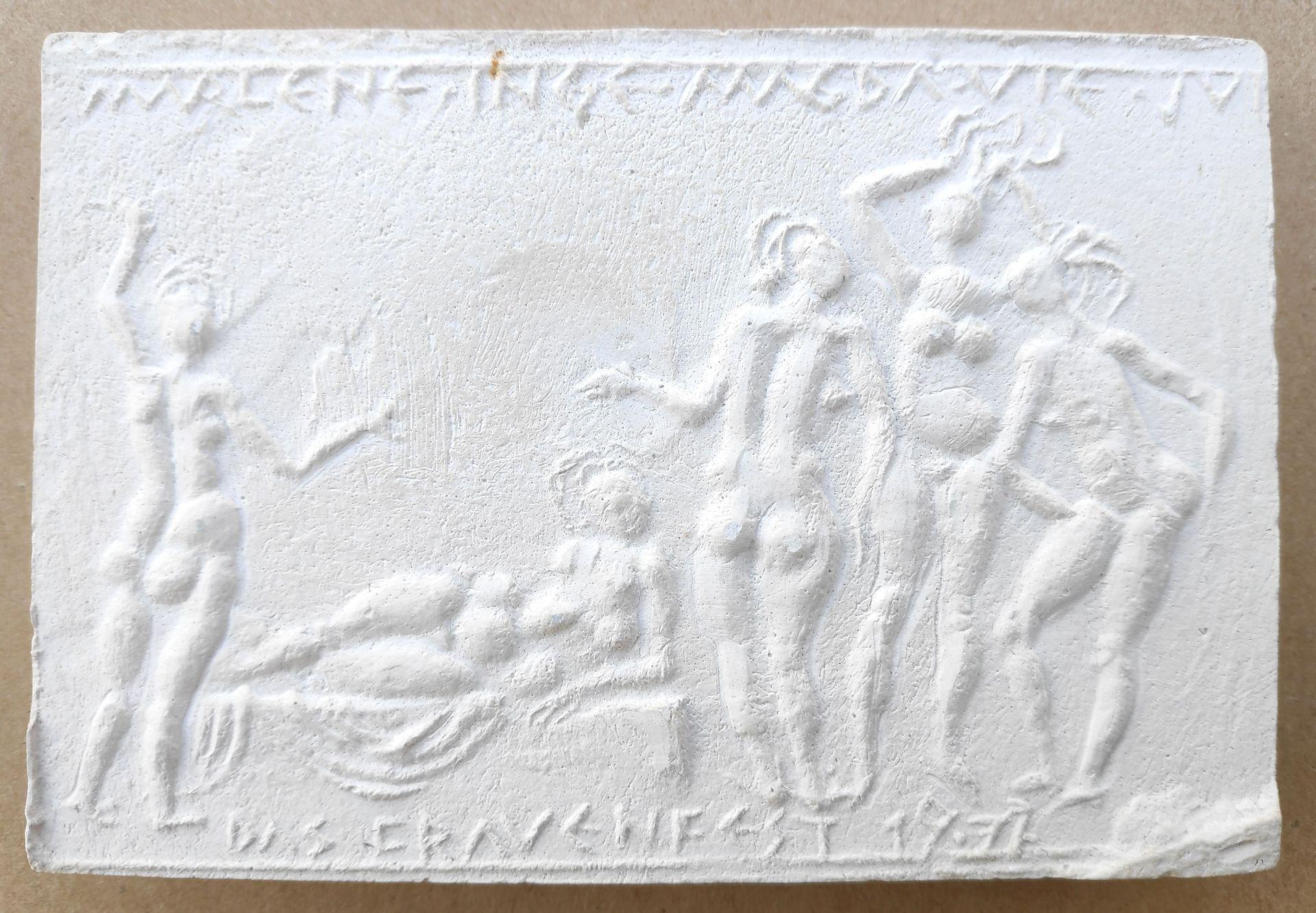"""Jastram, Jo (1928 Rostock – 2011 Ribnitz-Damgarten) """"Frauenfest"""" / """"Weiblicher Akt"""" / Unbekannte Pla"""