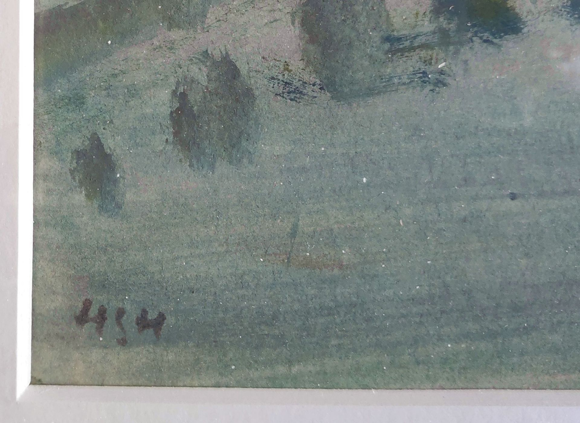 "Holtz-Sommer, Hedwig (1901 Berlin – 1970 Wustrow) ""Seenebel fallend"" - Bild 3 aus 3"