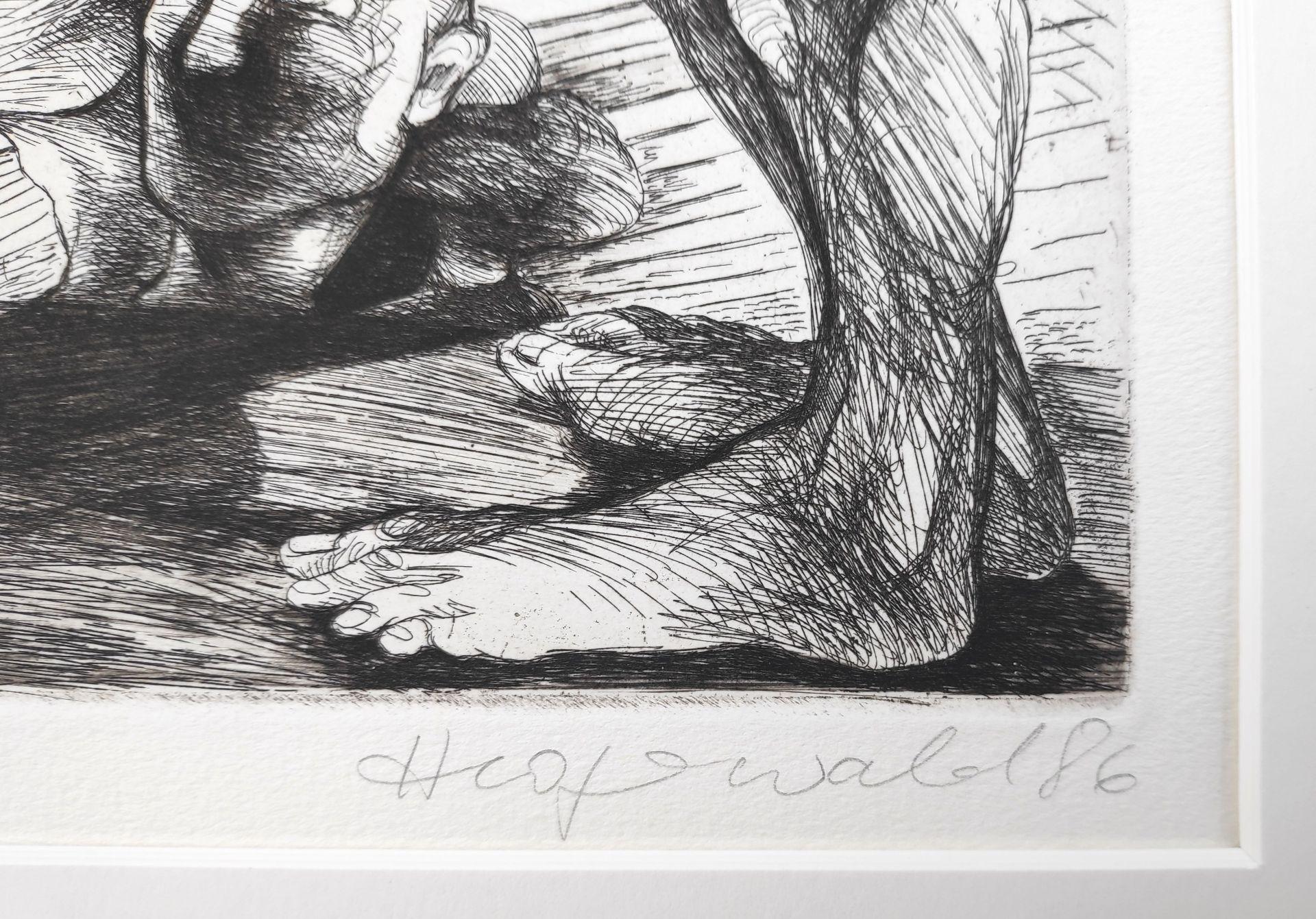 """Hegewald, Heidrun (1936 Meißen, lebt in Berlin) """"Zu J.R. Becher: Das Gerücht"""" - Bild 3 aus 3"""
