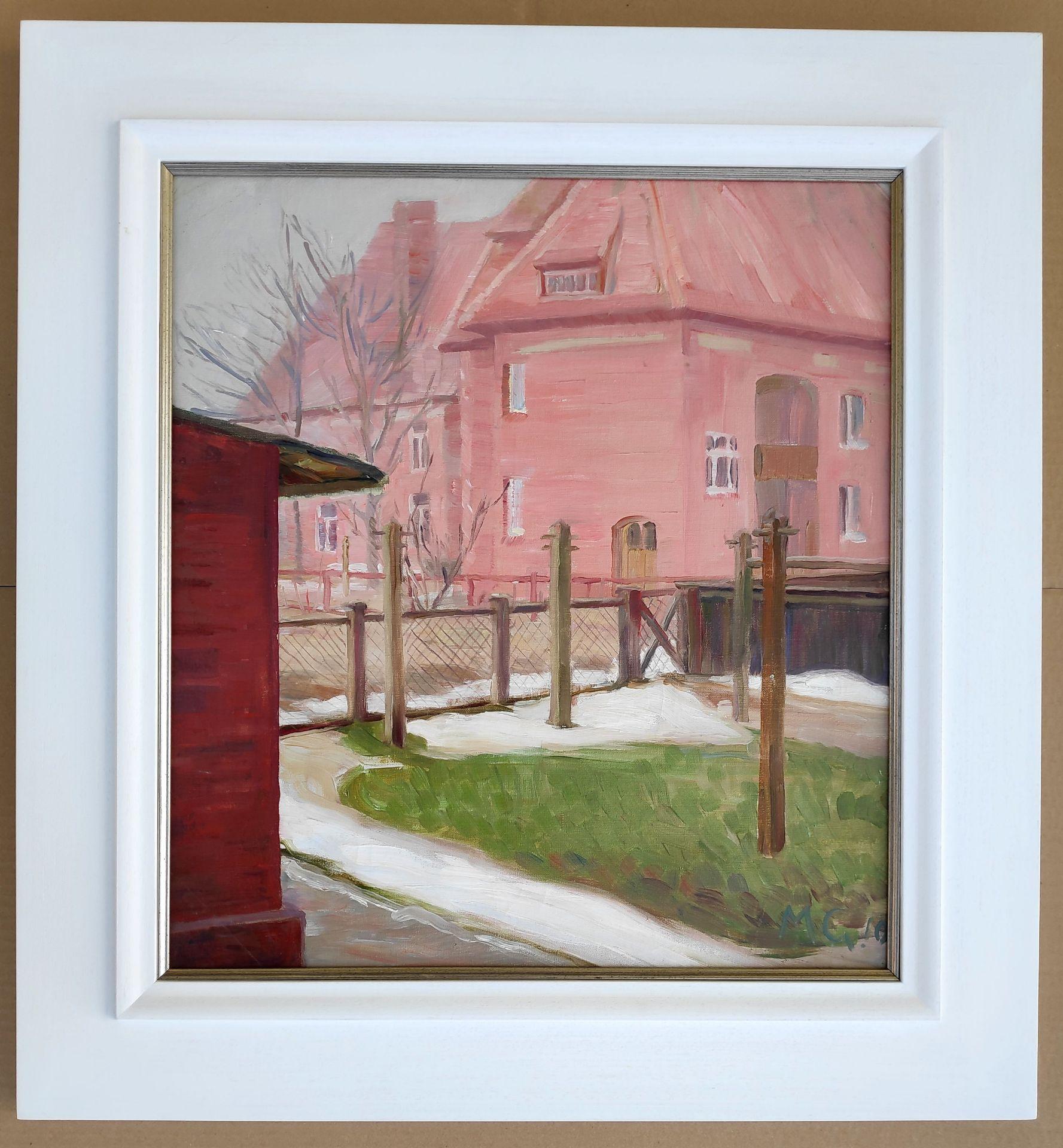 """Kliefert-Gießen, Mathilde (1887 Pries bei Kiel – 1978 Stralsund) """"Der Wäscheplatz"""" - Bild 2 aus 3"""