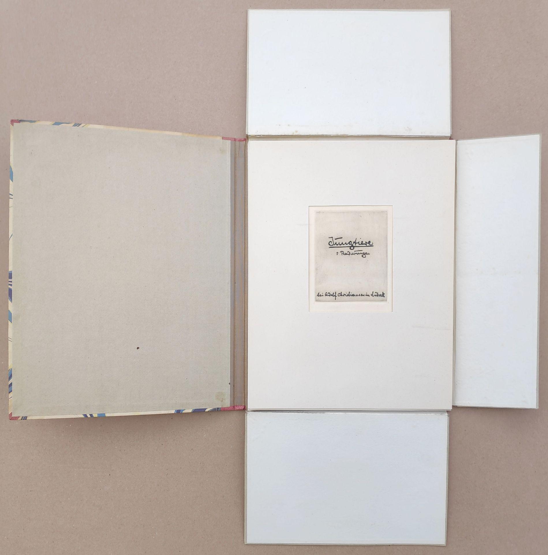 """Glas, Erich (1873 Berlin - 1973 Haifa) """"Jungtiere"""" - Bild 3 aus 9"""