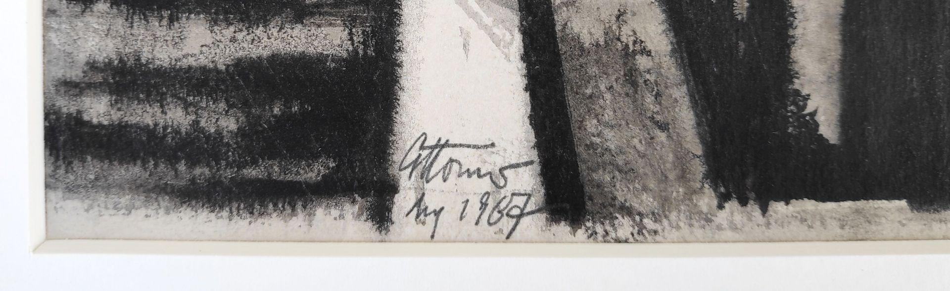 """Körner, Gottfried (1927 Werdau, - 2015 Dresden) """"Warnemünde - Am Strom"""" - Bild 3 aus 3"""