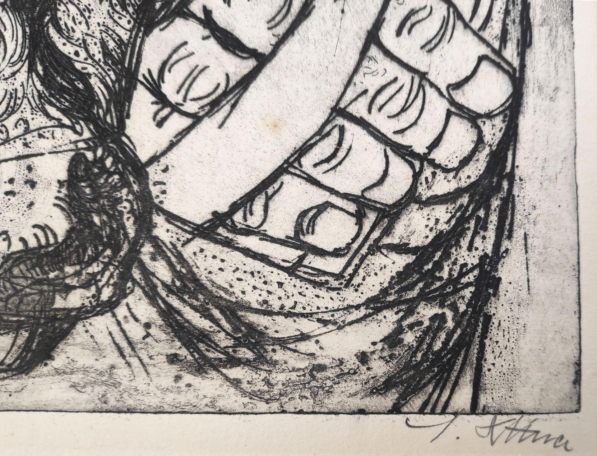 """Dittner, Sieghard (1924 Schneidemühl - 2002 Malchow) """"Jungviehpfleger W. Bastigkeit"""" - Bild 3 aus 4"""