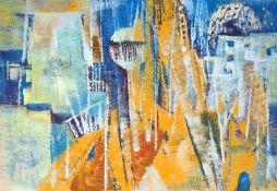 "Mannewitz, Mechthild (1926 Rostock, lebt in Rostock) ""Komposition"""