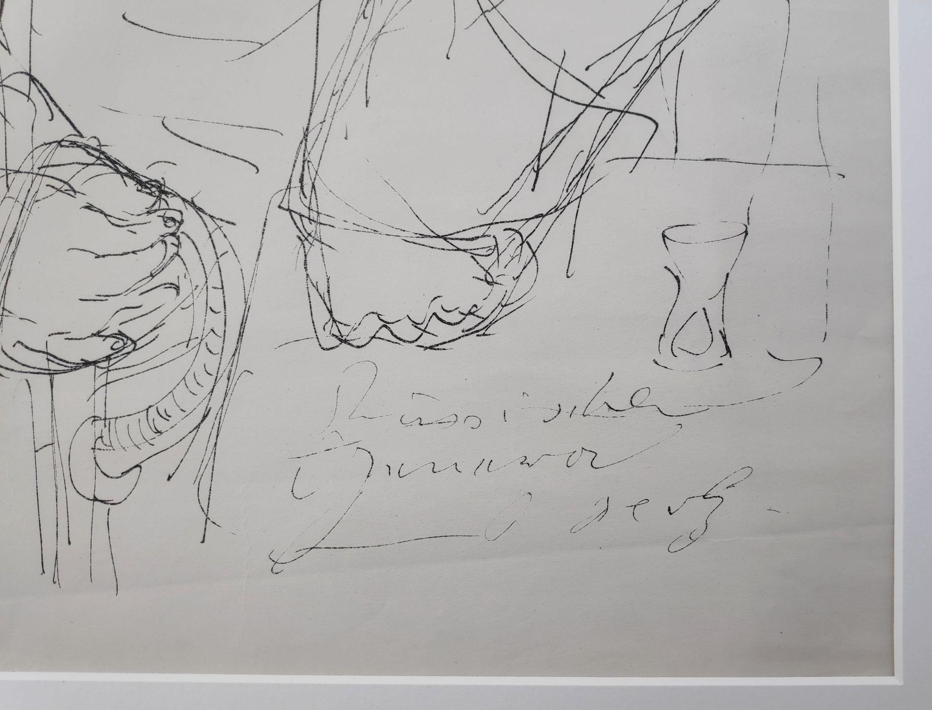 """Holz, Paul (1883 Riesenbrück bei Pasewalk - 1938 Schleswig) """"Russischer General - Zu Dostojewski"""" - Bild 3 aus 3"""