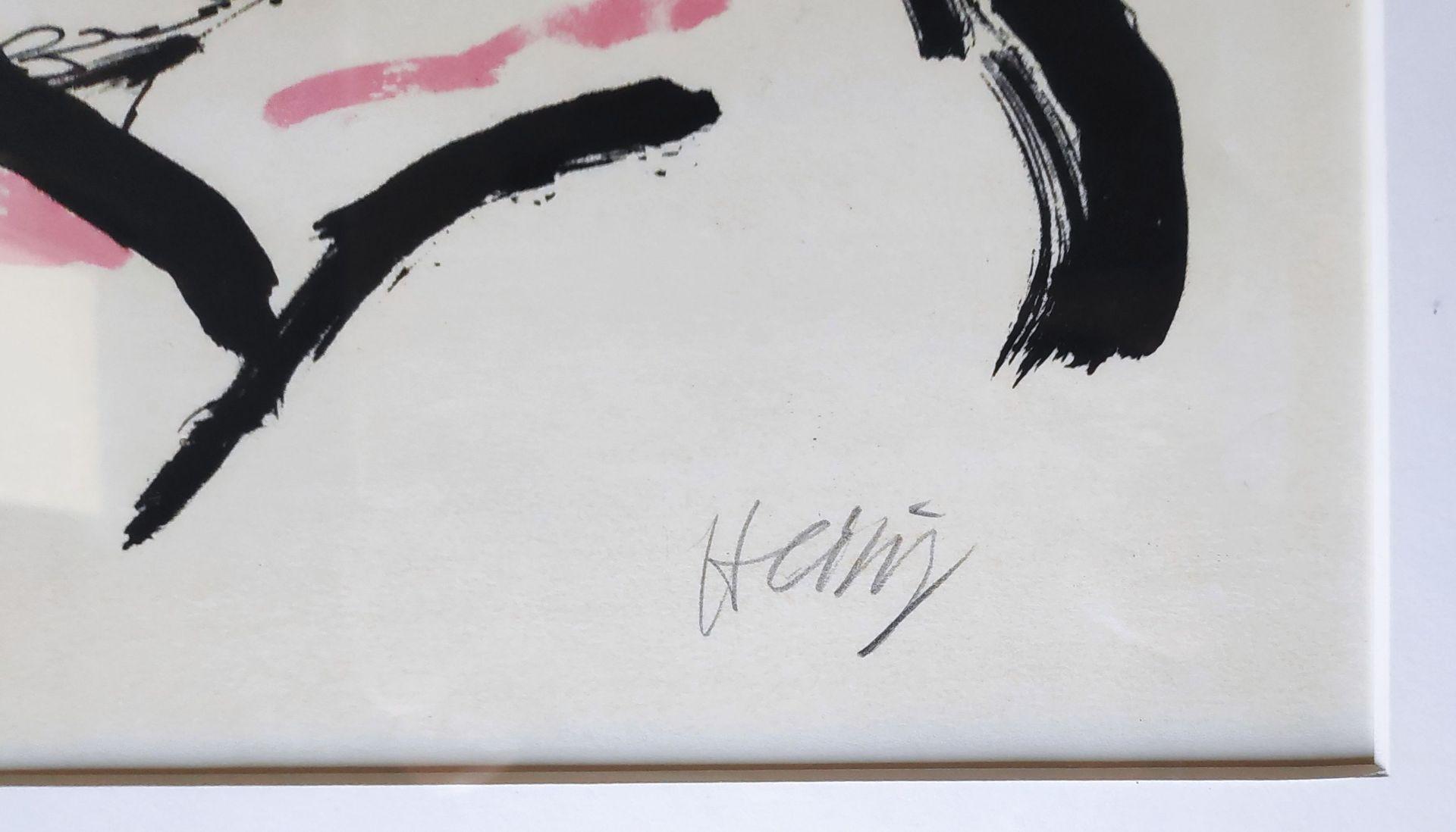 """Heisig, Bernhard (1925 Breslau – 2011 Strodehne) """"Mädchen im Sessel / (Sitzendes Mädchen)"""" - Bild 3 aus 3"""
