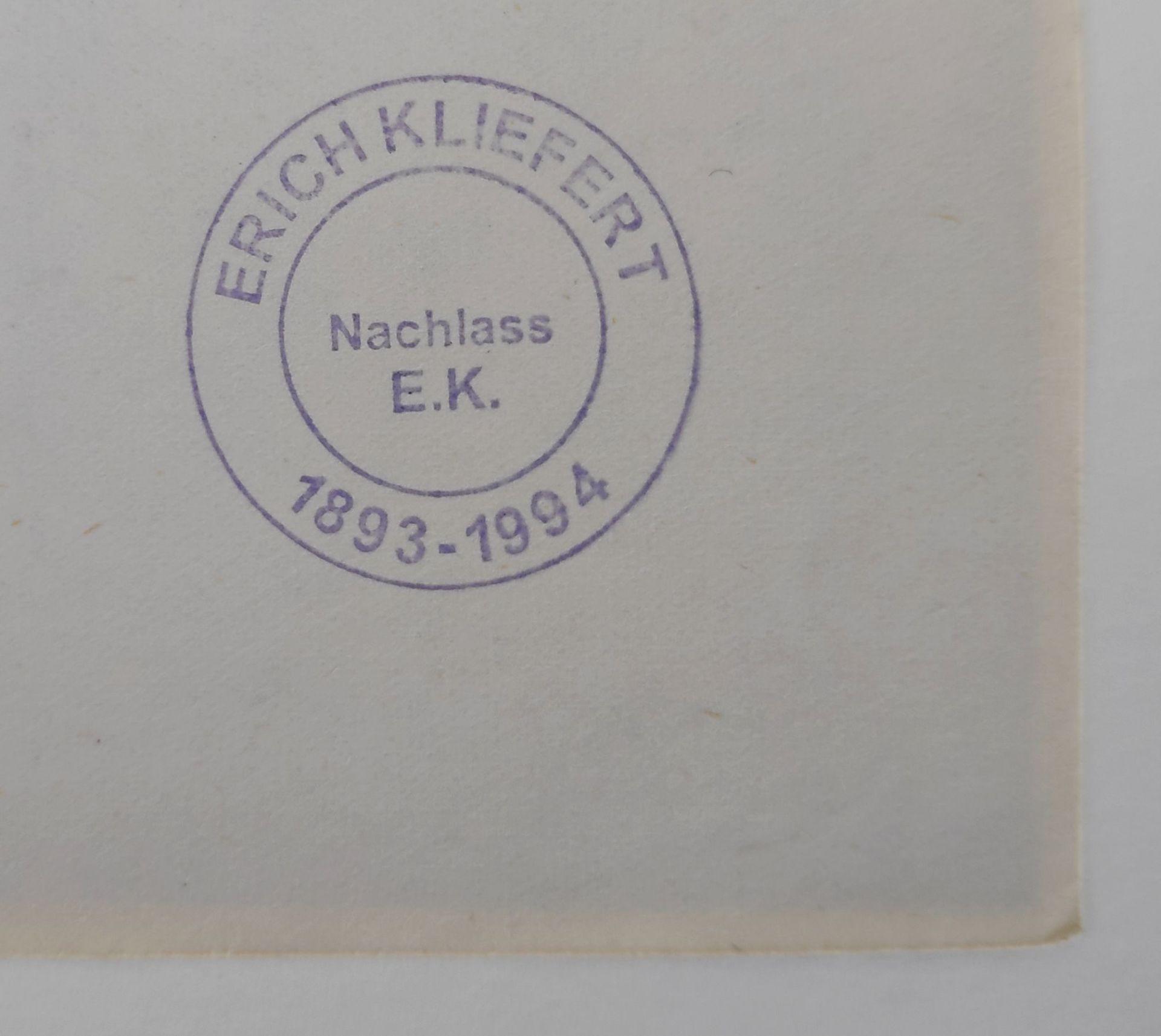 """Kliefert, Erich (1893 Berlin – 1994 Stralsund) """"Strandszene I"""" - Bild 3 aus 3"""