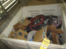 Tote of misc. wire
