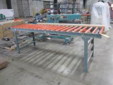 Conveyor roller non powered