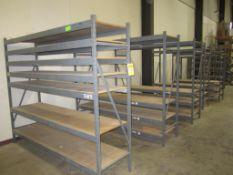 Shelving - lot of 5 shelves