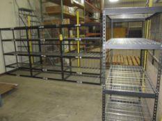 Shelving - lot of 4 shelves