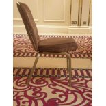 10x Burgess Taupe Upholstered Vario-Allday 21/7 Ergonomic Banqueting Chairs