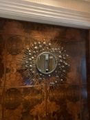 Villiers Bros Urchin Accent Mirror Contemporary Style Approximately 110cm ( Loc Lobby)