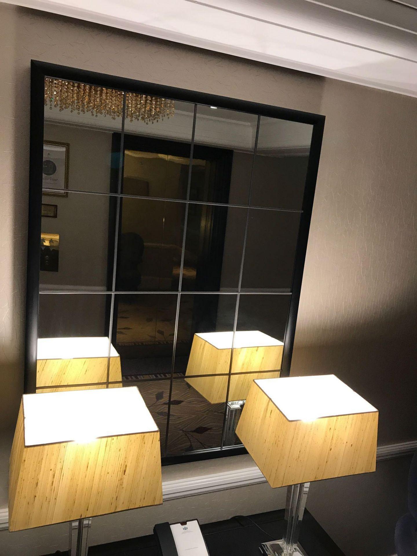 Porta Romana Riviera Mirror Bronzed With Mirror Glass 120x 90cm( Loc Hall Floor 2)
