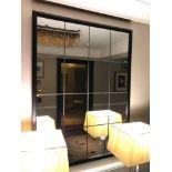 Porta Romana Riviera Mirror Bronzed With Mirror Glass 120x 90cm( Loc Hall Floor 1)