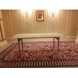 5x Burgess 6ft Folding Flock Padded Rectangular Banquet Table 77x 183x 72cm ( Loc Mount Vernon