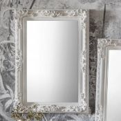 Altori Rectangle Mirror Silver 830 x 1140 The Altori Antique French Style Rectangle Mirror Is The
