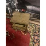 A Pair of Soho Solid Wood Side Table / Bedside 1 Drawer whether it leans more towards traditional