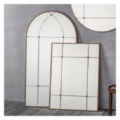 Ariah Mirror W700 x D15 x H950mm A Trio Of Beautiful Mirror Panels With An Elegant Antique Gold