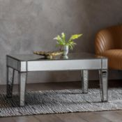 Amberley Mirrored Coffee Table 900 x 600 x 450 The Amberley 4 Drawer Coffee Table Is The Perfect