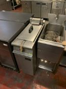 Falcon Dominator Plus E3830 Single Basket Fryer 3 Phase 16 Litre Electric Free Standing Fryer 79cm X