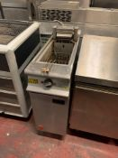 Falcon E3830 Electric Freestanding Fryer (Dominator Plus) 3 Phase Electric No Lid 30 X 80 X 92cm
