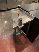 Stainless Steel preparation aation Table With Can Opener 58cm X 51cm X 85cm