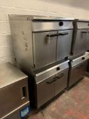 Falcon Dominator Plus Natural Gas Two Tier General Purpose Oven G3117/2 90 X 77 X 167cm
