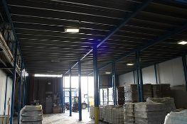 Powerdeck Mezzanine Floors - mezzanine steel floor decked in high density board with pallet loader