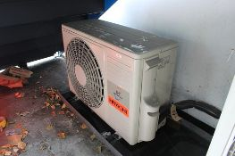 Hitachi RAC -35YH6 Mono split air conditioning unit with outside unit dimensions 518 x 298 x