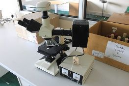 Laboratory Compound Microscope Mechanical Stage Coaxial with magnification WF10X , PL4, PL10, 20PHP,