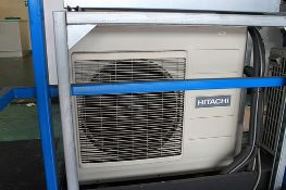 Hitachi RAC-70YH5 Mono split air conditioning unit with outside unit dimensions 850 x 298 x 800mm (