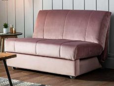 Metz Sofa 120cm Modena Mulberry Upholstered The Metz collection is ideal even for smaller spaces,