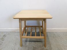 Laura Ashley Hazlemere Side Table oak Taking inspiration from the iconic furniture designs of the