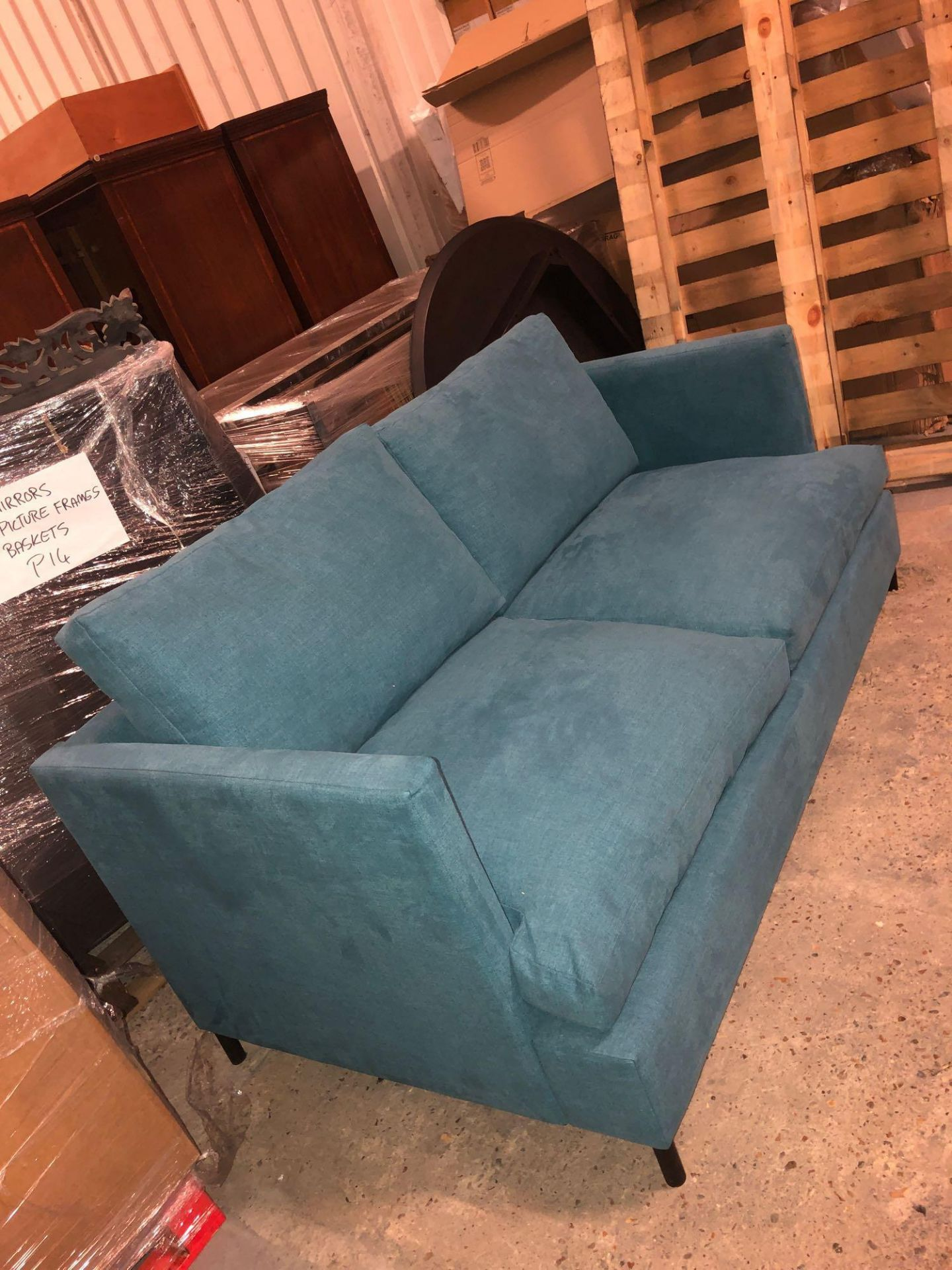 Weyburn 3 Seater Sofa Bed Turquoise The Weyburn 3 Seater Sofabed Is A Both Versatile And Stylish